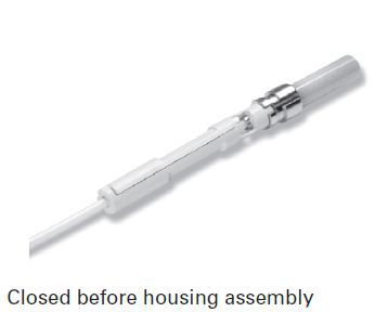 Closed before housing assembly