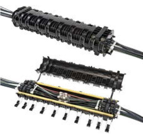 Gel Closure for Blown Fiber Joint Applications