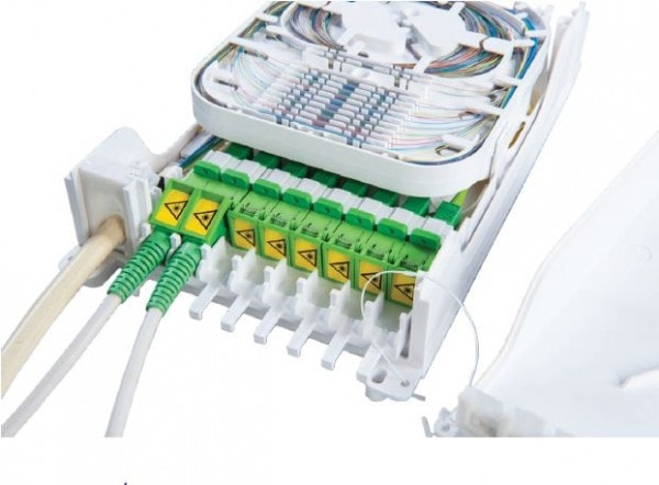 Indoor Fibre Distribution Box for Connectorised Applications