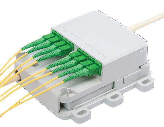 Indoor Fibre Distribution Box Plug-and-Play