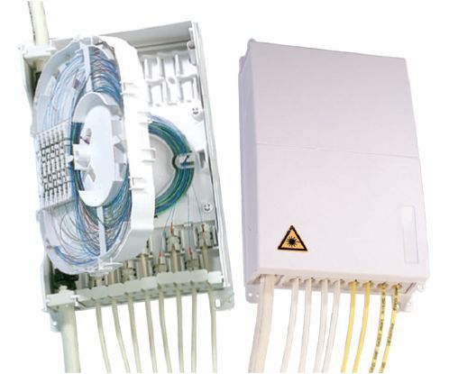 Indoor Fiber Distribution Box for Spliced Applications