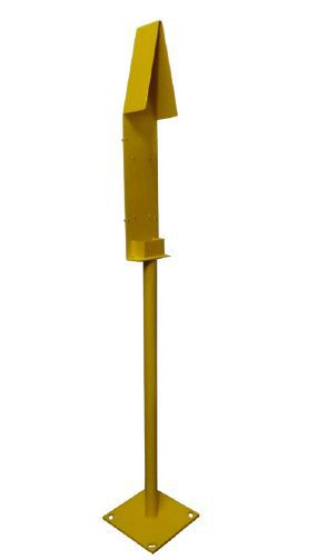 Telephone Mounting Post (Bird Cage) Painted Yellow RAL1021