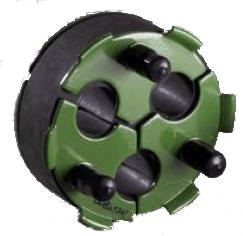 Jack Moon Triplex Duct Plug